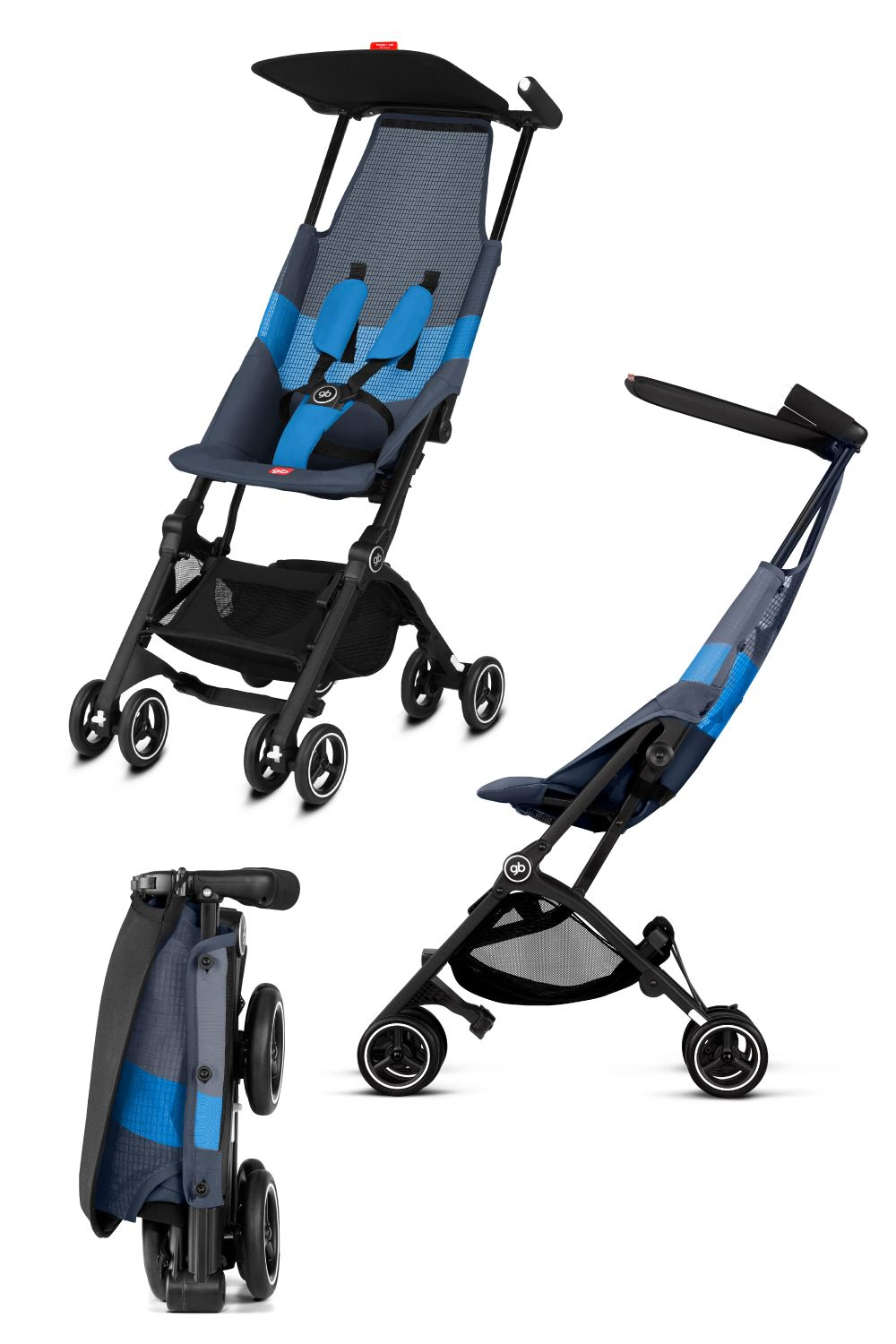 GB Pockit Air AllTerrain Stroller Traveling by yourself