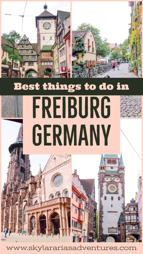 Top things to do in Freiburg Germany