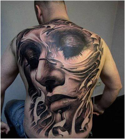 1000+ images about 3D Tattoos on Pinterest   Sad angel, Best 3d ...