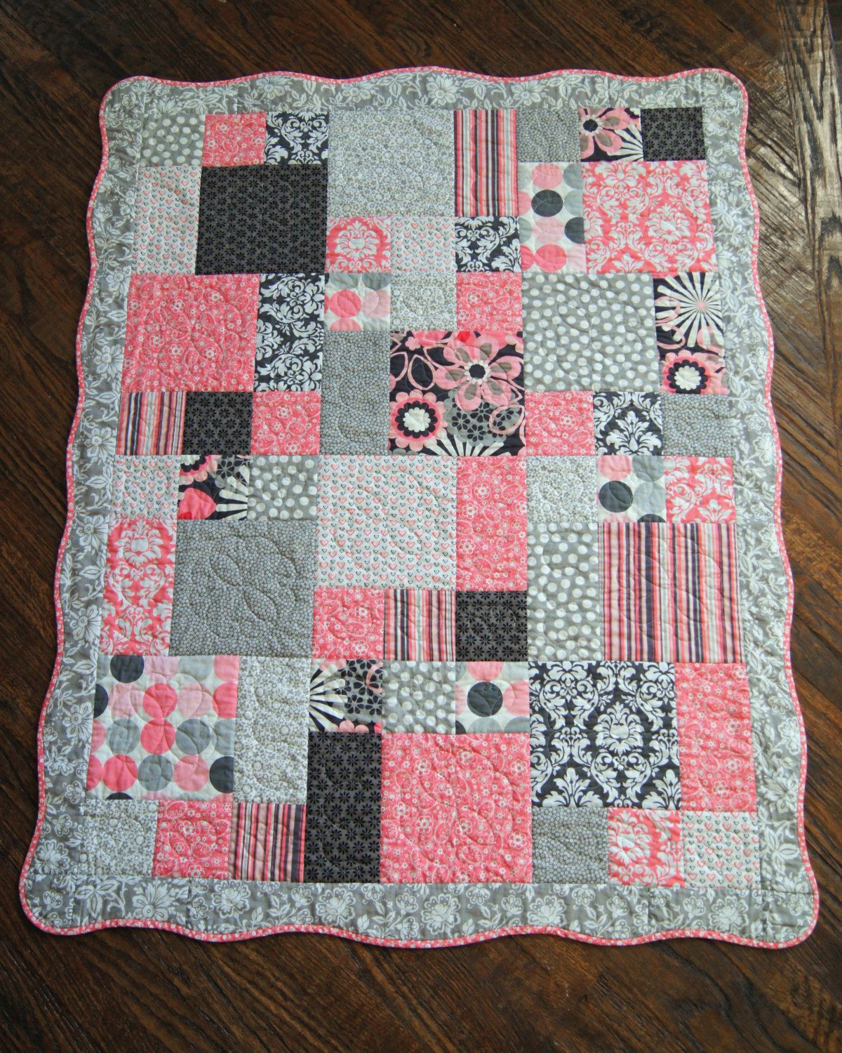Pins Daddy Custom Baby Quilt Made To Order Girl Boy