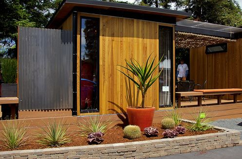 Modular Garden Shed Living Space Inbetween Gardens Spaces and