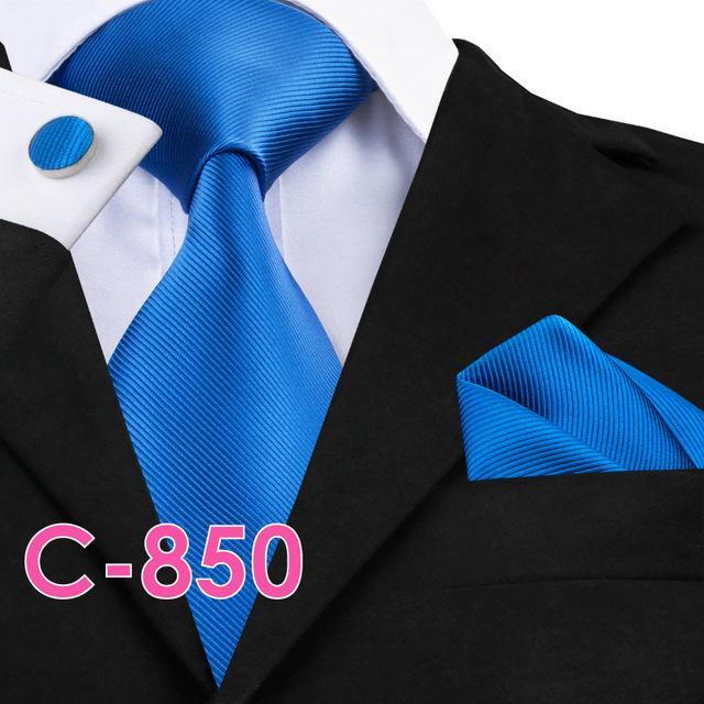 Solid Silk Classical Neck Tie
