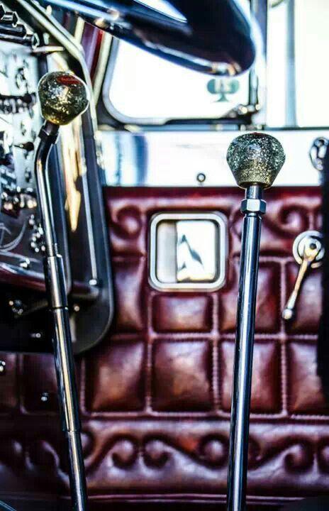 Semi Gear Shift Knobs : Vintage peterbilt shift knob semi truck big rig trucker