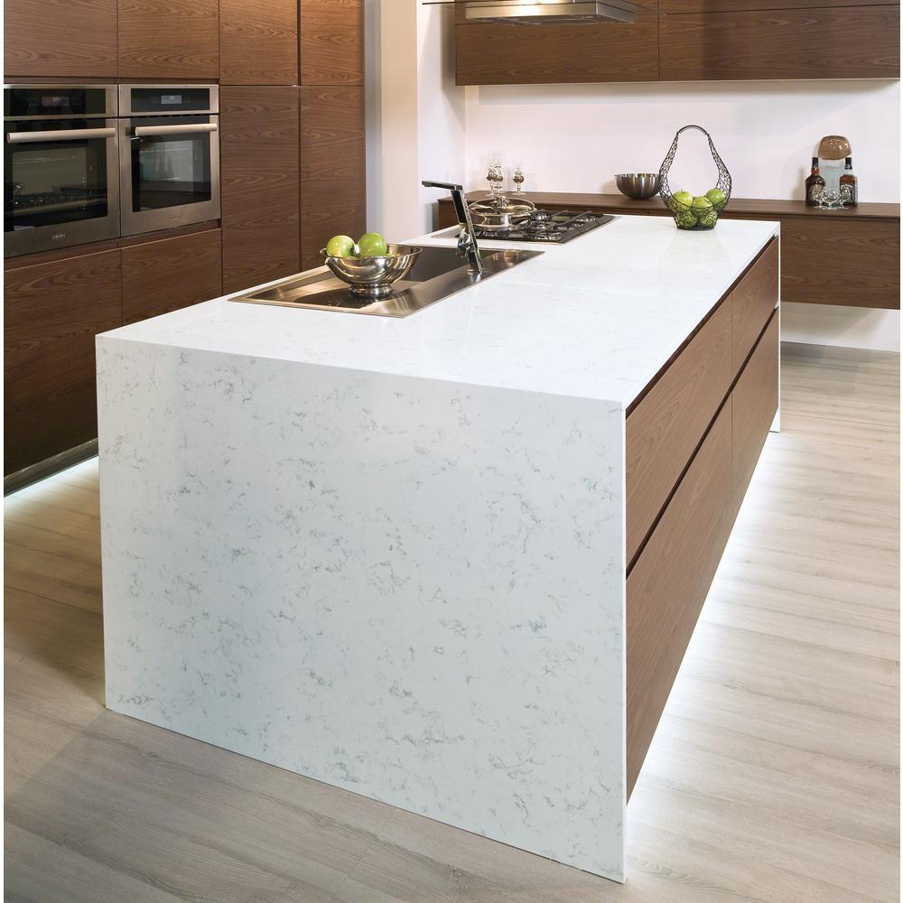 Stonemark 4 In X 4 In Quartz Countertop Sample In Fairy White P Qsl Fairwht 3x3 In 2020 Quartz Countertops White Quartz Countertop Quartz Kitchen