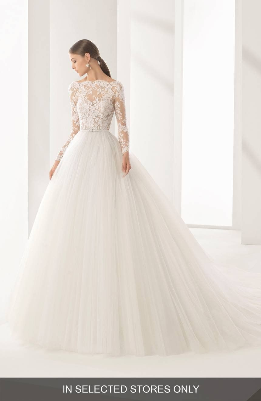 Rosa Clara Couture Niher Lace Tulle Ballgown Nordstrom Bridal Gowns New Wedding Dresses Elegant Wedding Dress