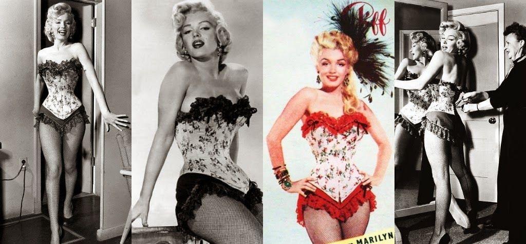 Morningstar Pinup: Marilyn Monroe- River of No Return- Corset and Skirt |  Marilyn monroe outfits, Marilyn monroe, Corset