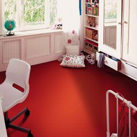 bright red vinyl floor tile   patterns + materials   pinterest