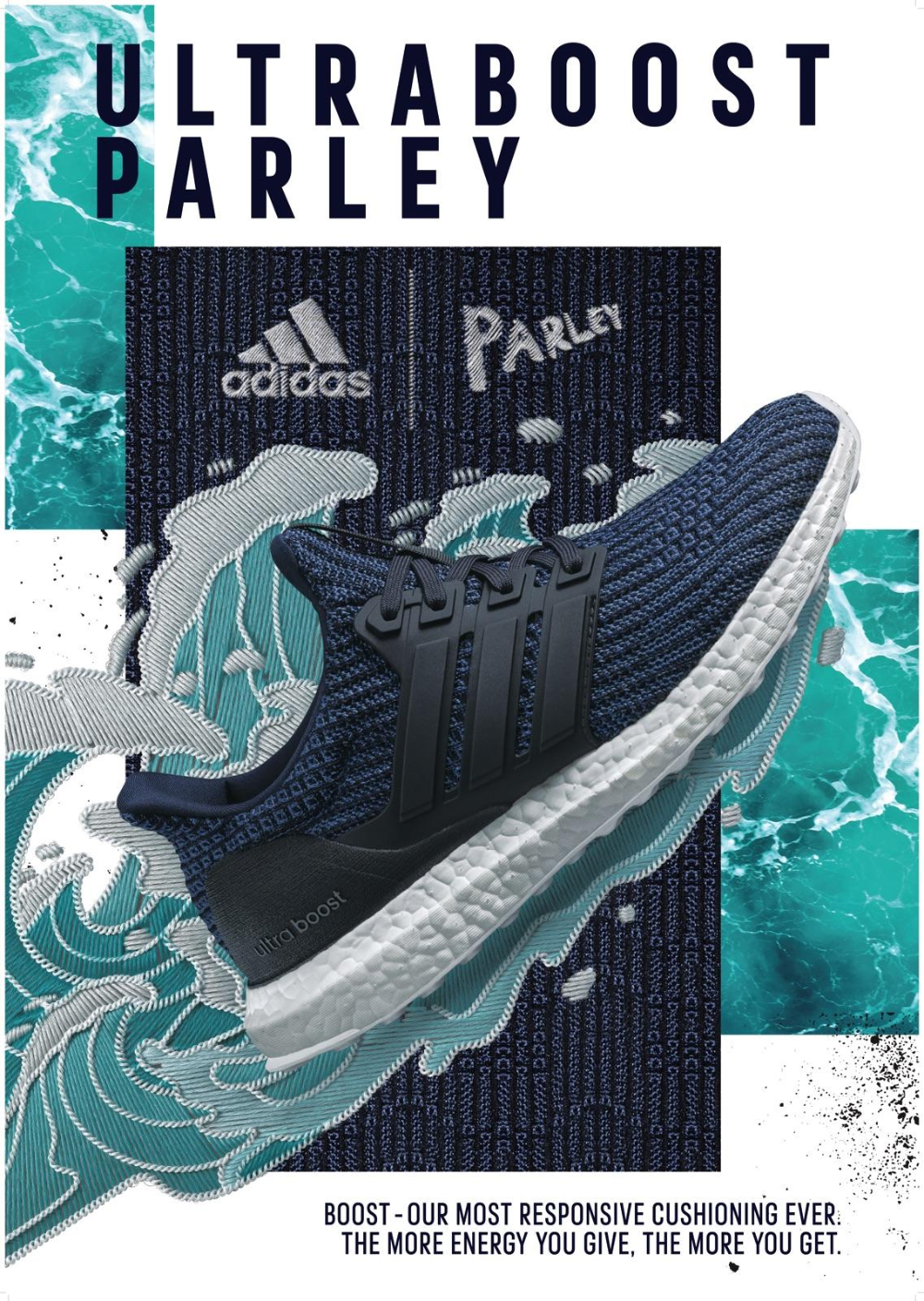 Adidas Print Advert By Tbwa Wave Ads Of The World In 2020 Sneaker Posters Shoe Poster Shoe Advertising
