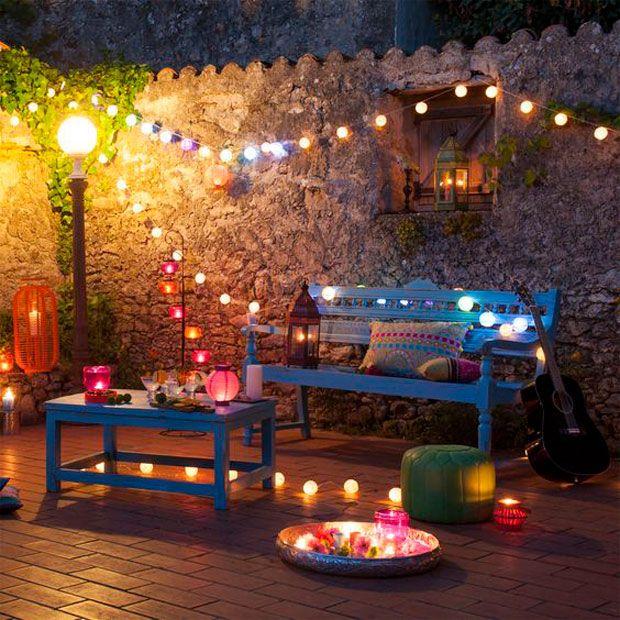 Ideas Low Cost Para Decorar Una Terraza Para Una Fiesta Blog Homy Decoracion De Patio Decoracion De Unas Decoracion Patios