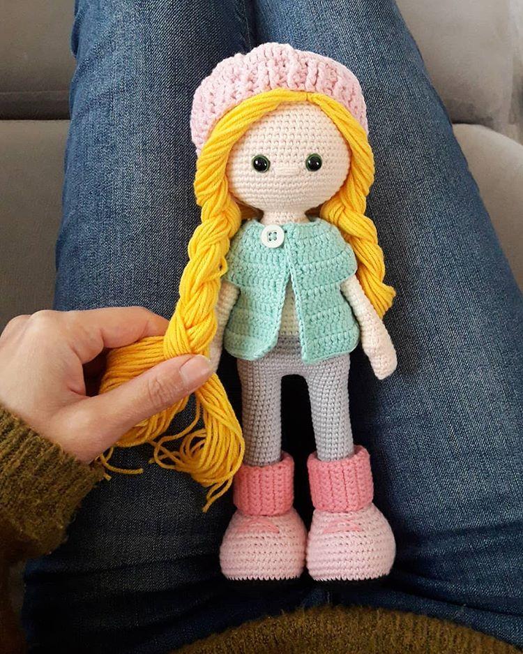 Molly Doll crochet pattern - Amigurumi Today | 937x750