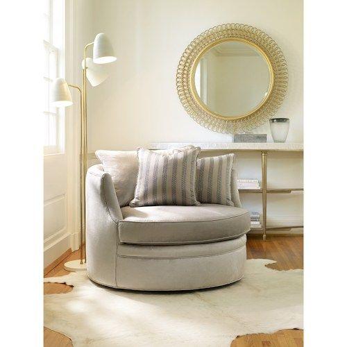 Cynthia Rowley for Hooker Furniture Cynthia Rowley - Pretty Upholstery Carmela Swivel Chair