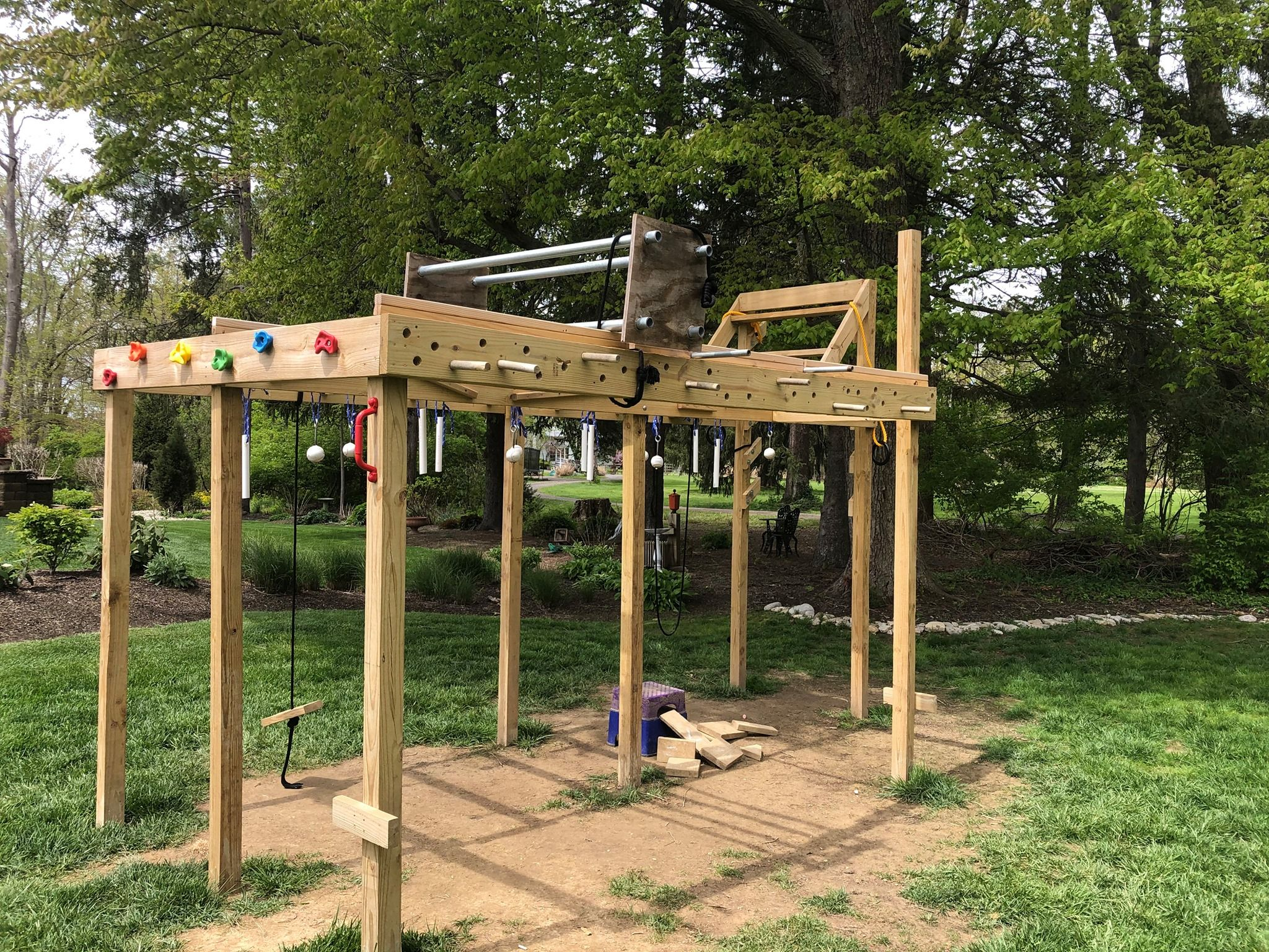 Diy Ninja Warrior Course For Kids Ninja Warrior Course Backyard Obstacle Course Ninja Warrior