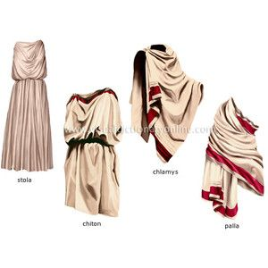 Ancient roman dress styles