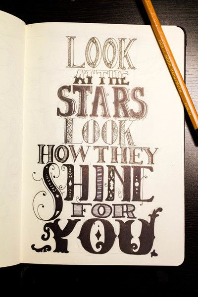 Star Shine Typography Pinterest Lettering Lyrics And Quotes