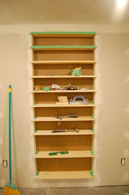 cd storage built in between wall studs - Google Search   storage and ...
