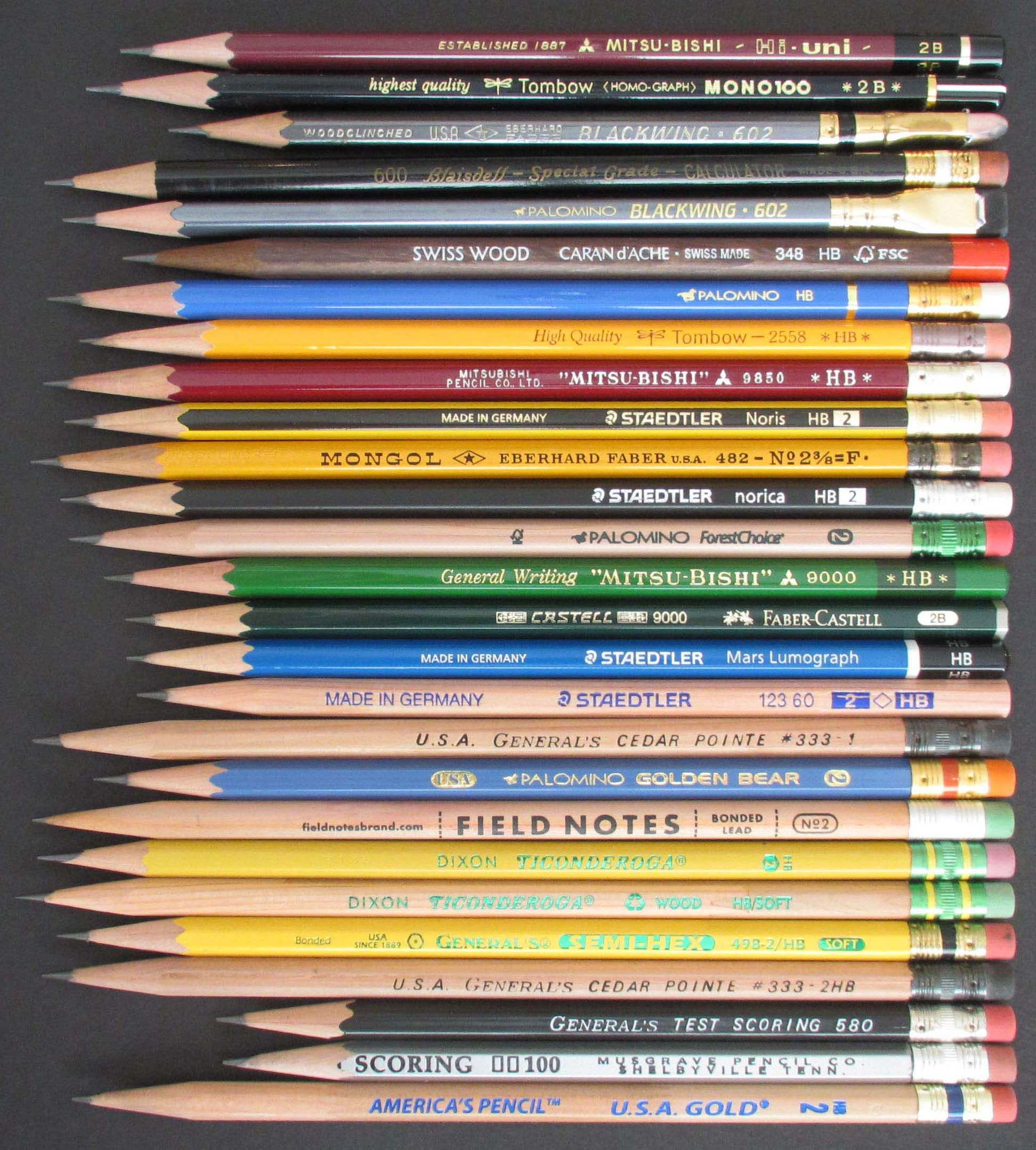 Coolest Pencil In The World The World 39s Best Pencils Office Supplies Best Pencil