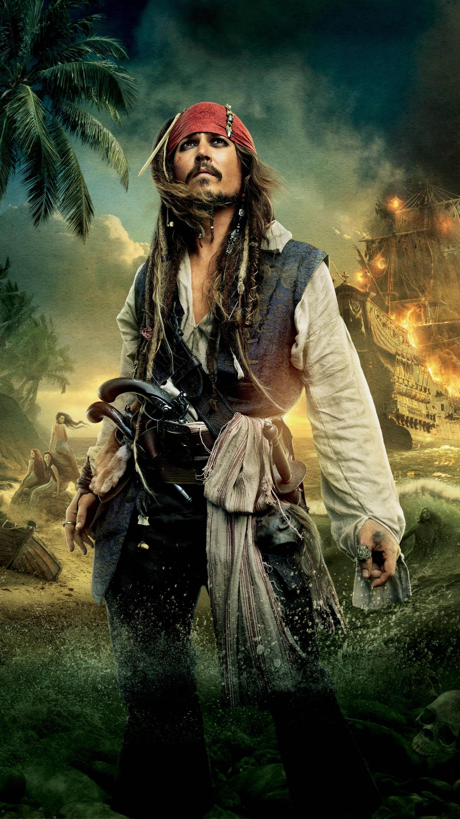 Pirates of the caribbean on stranger tides 2011 phone - Caribbean iphone wallpaper ...
