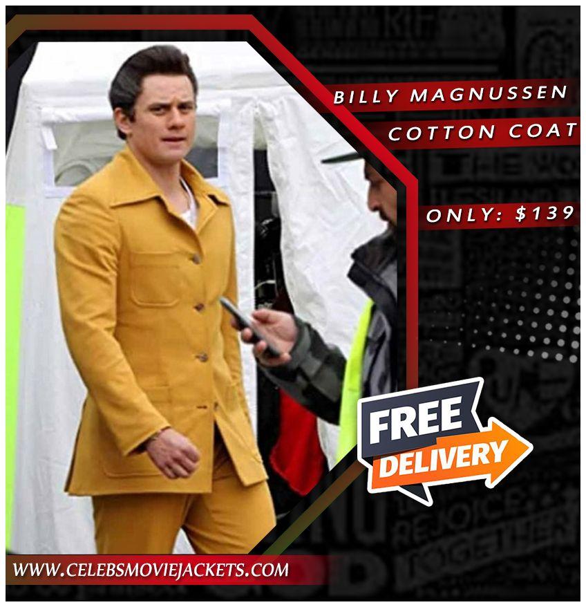 The Many Saints Of Newark Billy Magnussen Coat In 2021 Billy Magnussen Celebrity Jackets Cotton Coat