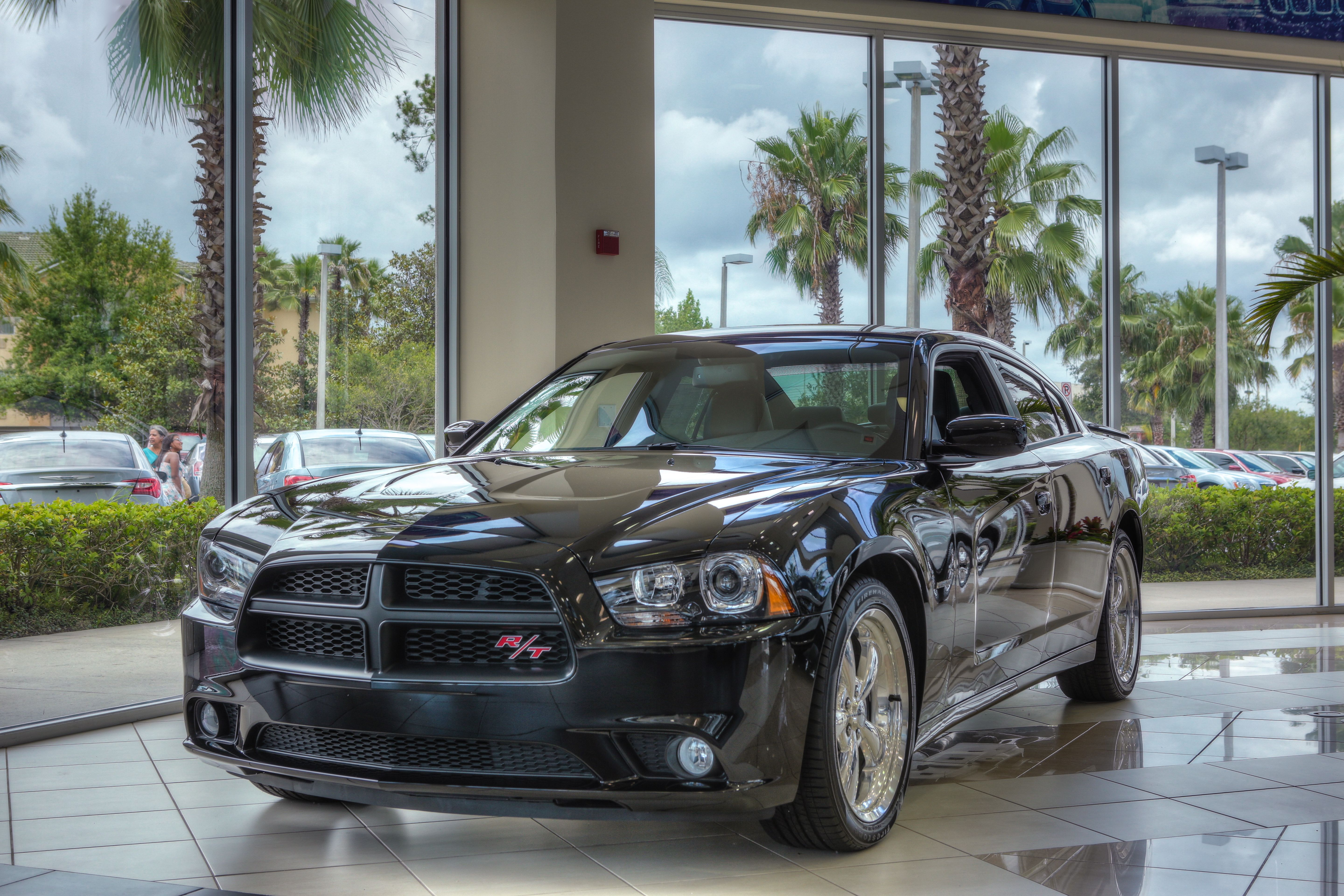 Dodge Charger RT On Display In The Showroom Of Central Florida - Chrysler dealership in orlando