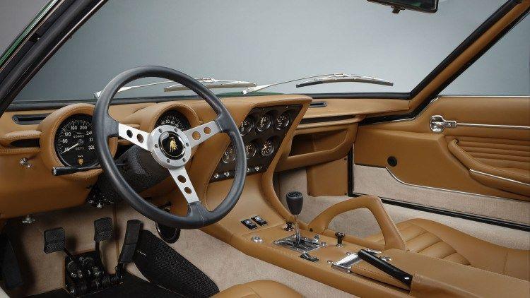 47 Amelia Island Lamborghini Miura Sv Polostorico Interior Miura