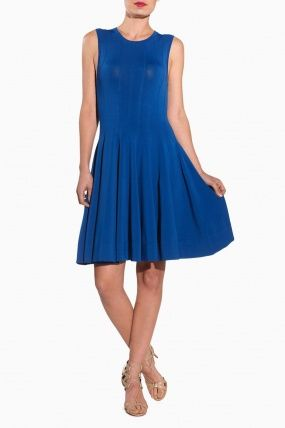 Peterson Dress - Cobalt - MadisonLosAngeles.com