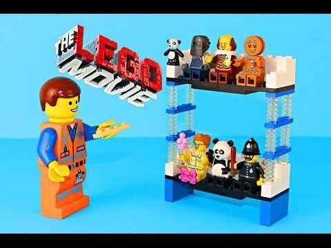 The Lego Movie Trailer Double Decker Couch Tutorial Emmet Lego Diy 2 Story Couch Blind Bag Toys Emmet Lego Lego Diy Lego