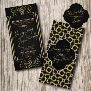 great gatsby invitation party event ideas pinterest gatsby