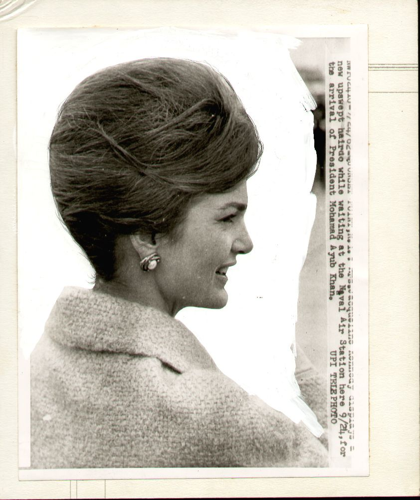 Kennedy hairstyle archives. www.pinkpillbox.com  Jackie Kennedy