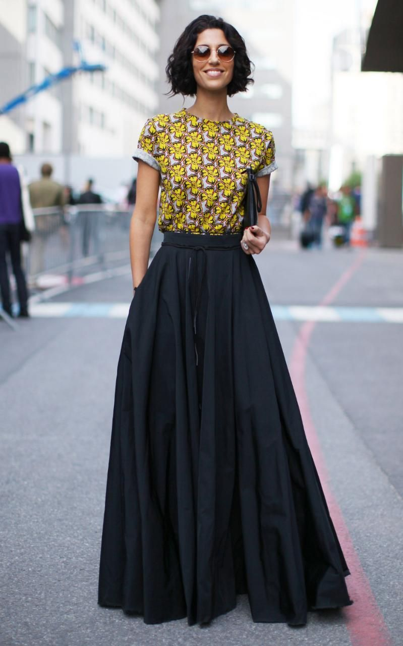 What to wear with a maxi skirt formal – Modern skirts blog for you ...