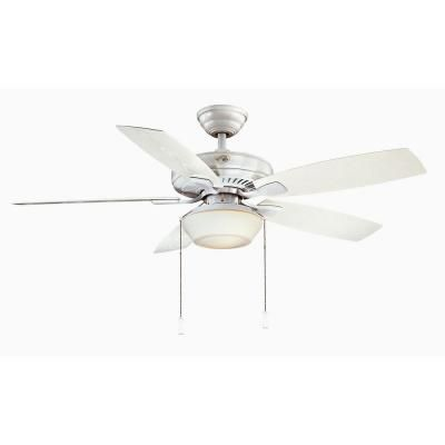 Emphasize The Visual Appearance Of Your Living Space By Adding This  Tremendous Hampton Bay Gazebo II Indoor Or Outdoor Natural Iron Ceiling Fan.