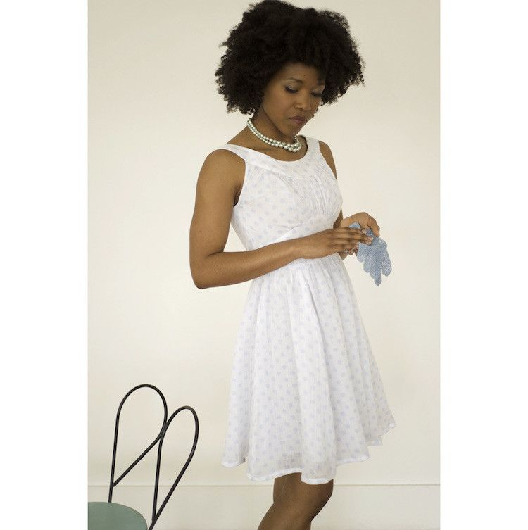 Colette - Chantilly dress | Sewing patterns for dresses | Pinterest