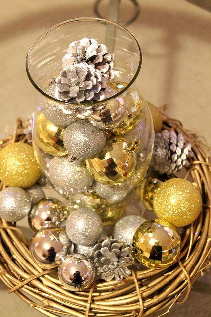 A Silver Gold Christmas Gold Christmas Silver Gold Christmas Silver Christmas