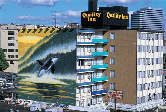 Wyland Mural Seattle Final Art Sea Life Art Wyland Wyland Art
