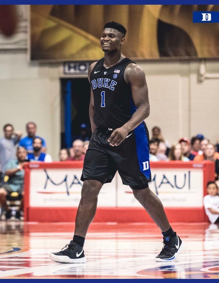 Zion Williamson Duke basketball, College hoops, Nba
