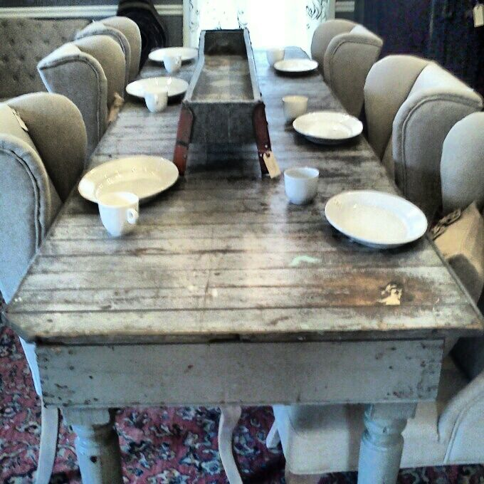 12 Foot Dining Room Tables: 10 Foot Long Dry Goods Store Table Scarlett Scales