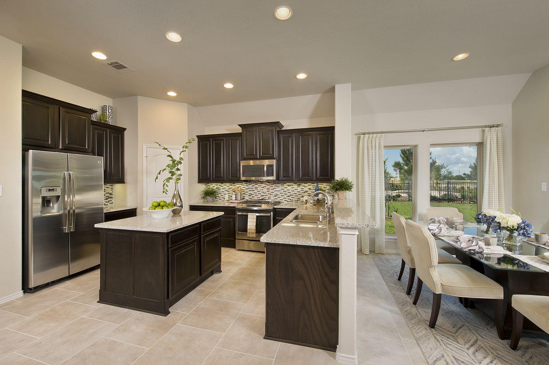 Bridgeland model home open daily 1950 sq ft kitchen