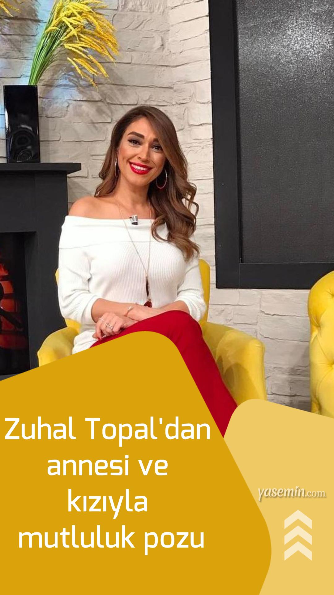 Zuhal Topal Dan Annesi Ve Kiziyla Mutluluk Pozu Kizlar Unluler Instagram