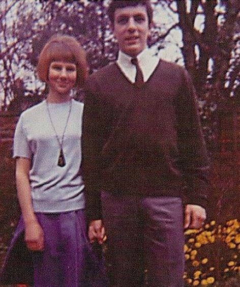 Syd Barrett and friend {1964}