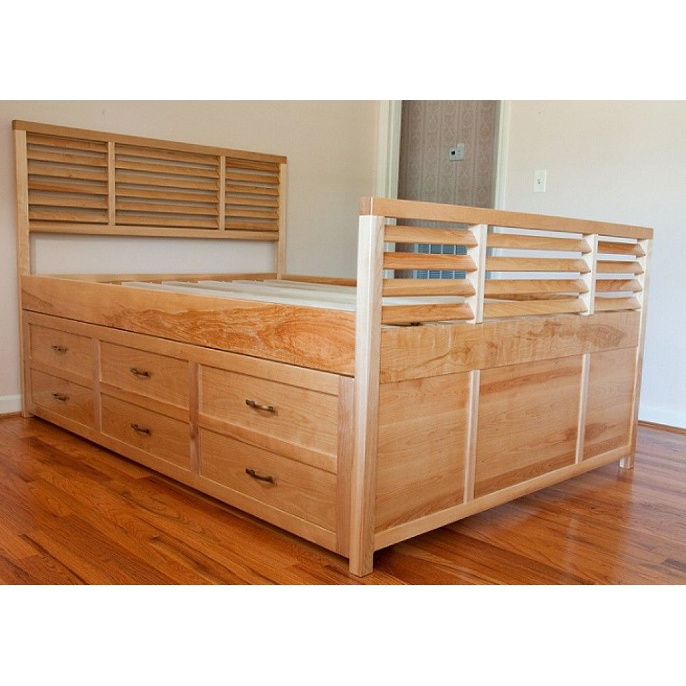 Imatra Double size Bed w/ Pullout Drawers