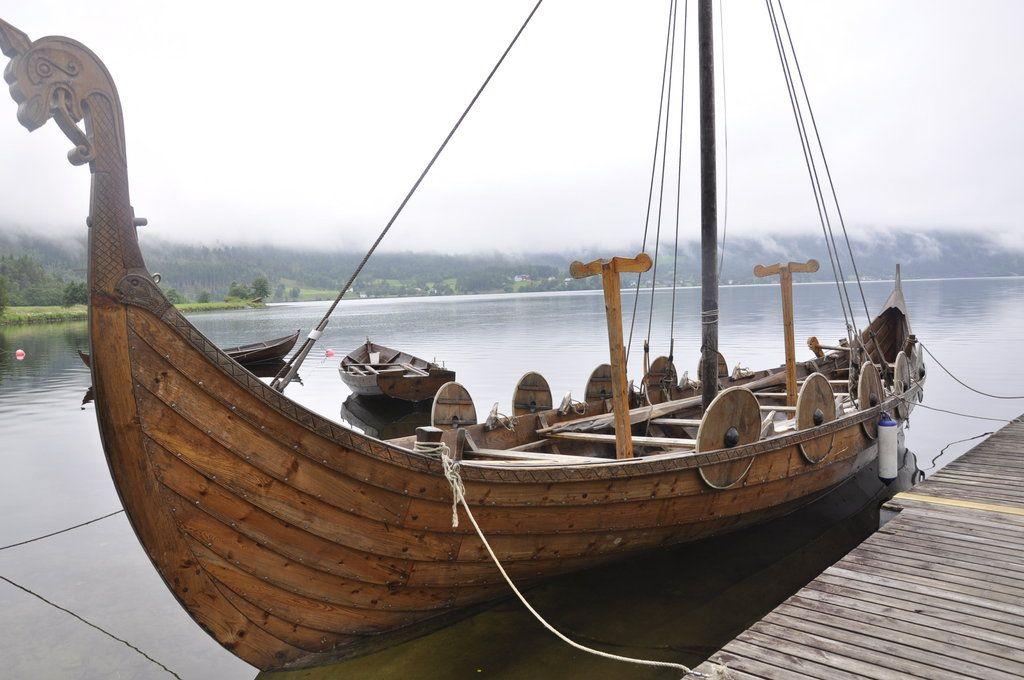 картинки лодка викингов несколько дней
