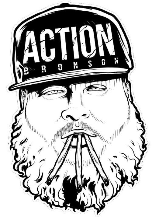 Action Bronson Hip Hop Art Hip Hop Culture Bronson