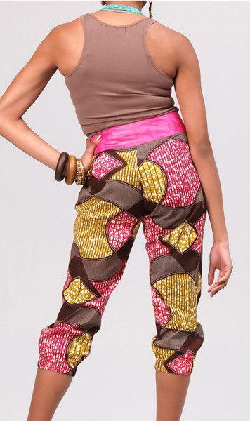 Taty Pants ~African fashion, Ankara, kitenge, African women dresses, African prints, Braids, Nigerian wedding, Ghanaian fashion, African wedding ~DKK