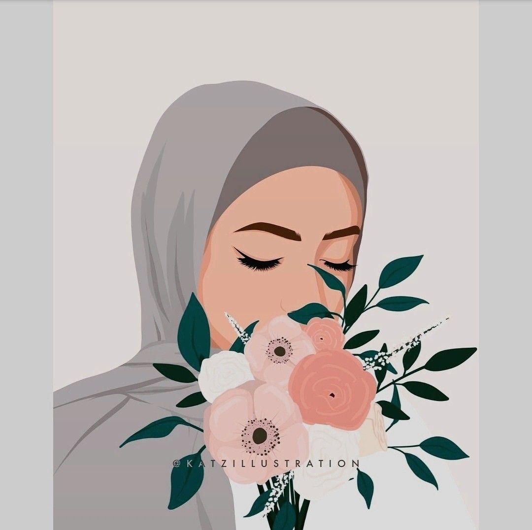 Pin Oleh Mervemsi Di Kartun Muslimah Di 2020 Kartun