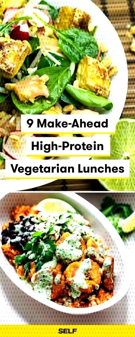 Make-Ahead High-Protein Vegetarian Lunches,  ... 9 Make-Ahead High-Protein Vegetarian Lunches, 9 Ma