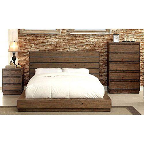 Furniture Of America Benjy 3 Piece Panel California King