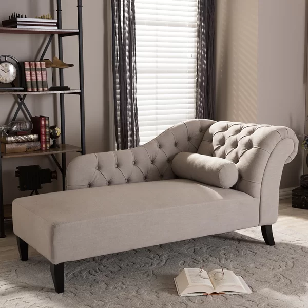 rudd chaise lounge tufted chaise