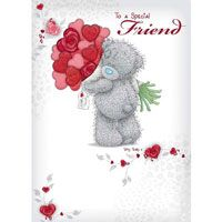Special Friend Me to You Bear Valentines Day Card