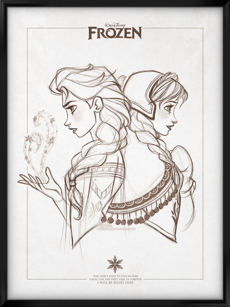 Walt Disney's Signature Collection - FROZEN by davidkawena on @DeviantArt