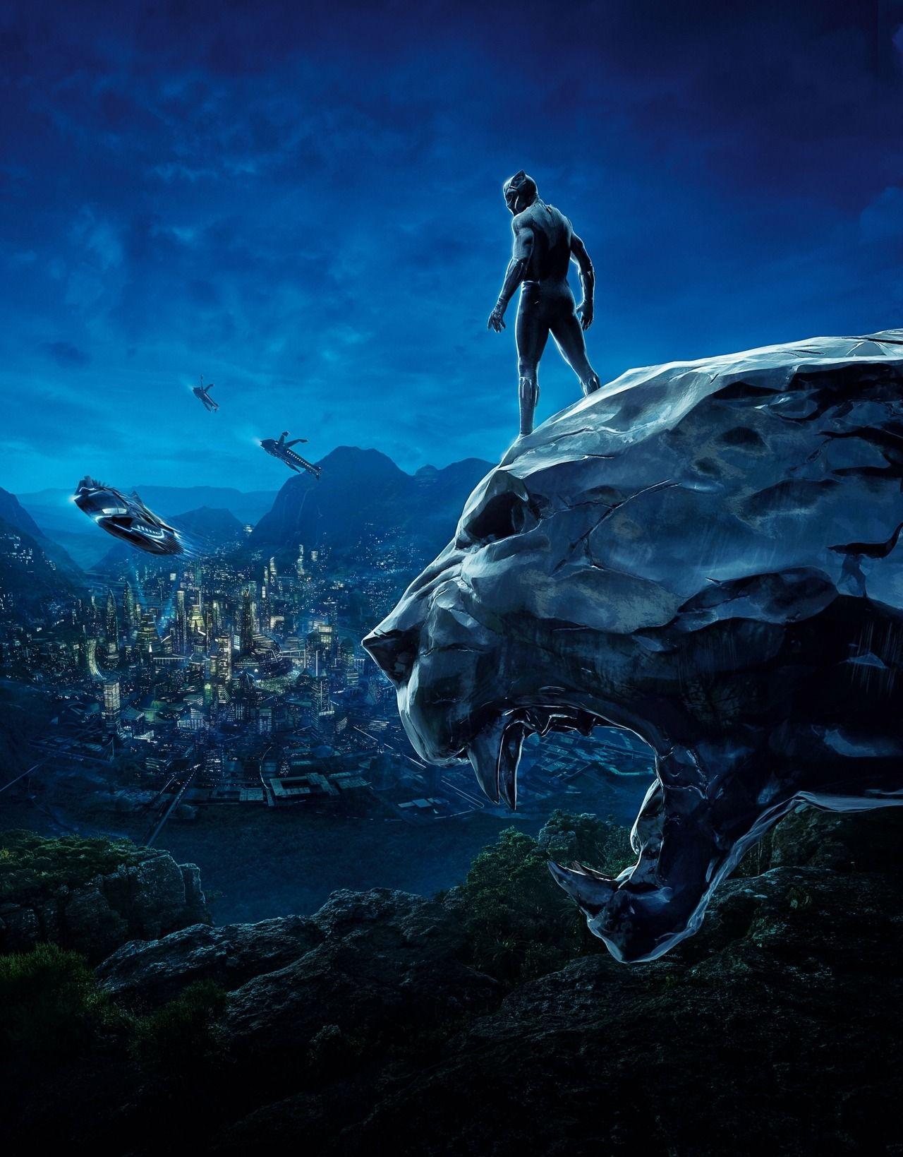 Excellent Black Panther (2018) Fan Poster!