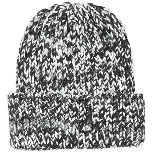 eb182cd6372 Women s Topshop Rib Knit Beanie ( 12) ❤ liked on Polyvore featuring  accessories